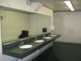 Clean modern bathrooms at YMCA Camp Duncan
