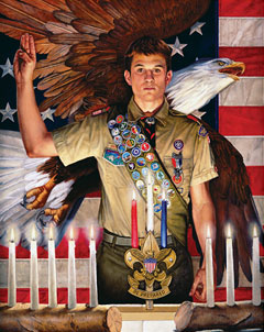 Eagle Scout Painting