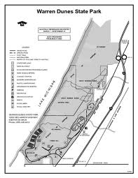 Warren Dunes Map