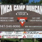 Camp Duncan Sign
