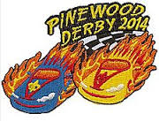 2014 Pinewood Derby Patch