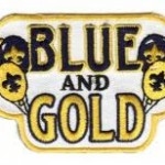 Blue & Gold Patch